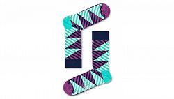Happy Socks Diagonal Stripe Sock farebné DIS01-5300
