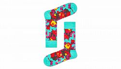 Happy Socks Flower Sock-4-7 farebné FLW01-7000-4-7