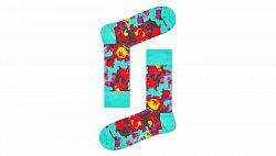 Happy Socks Flower Sock farebné FLW01-7000