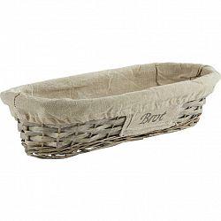 Košík Na Chlieb Bahar, Š/v:17/39cm
