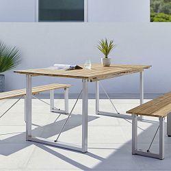 Záhradný Stôl Leonor 180x90 Cm Akáciové Drevo